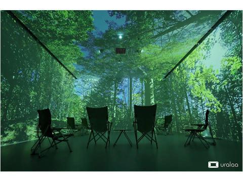 日本初!自然を体感する「デジタル森林浴」空間が北海道・浦幌町にオープン