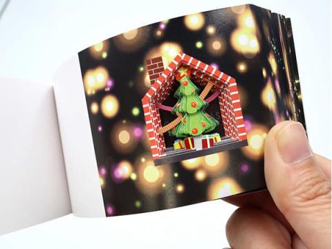 大人気シリーズ待望の最新作!パラパラブックス「クリスマスのひみつ」発売