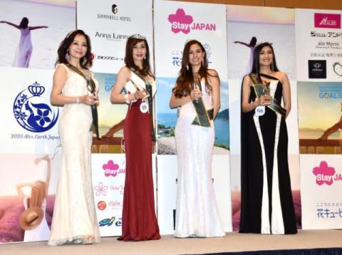 『ミセス・グローバルアース・ジャパン』GP4人が決定 61歳・宮澤裕子さん「シニア世代の希望となりたい」