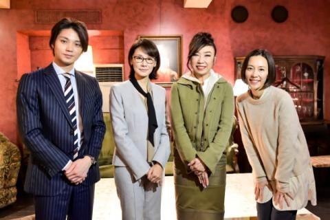 松任谷由実『恋する母たち』撮影現場を陣中見舞い「小学生みたいになってしまいました」