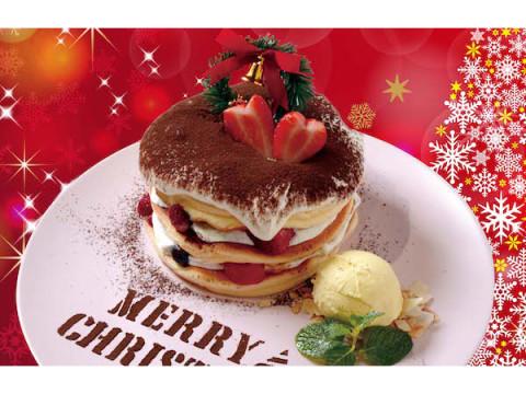 「ベルヴィル」からクリスマス限定の「ティラミスパンケーキ」が発売中!