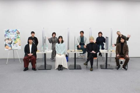『天地創造デザイン部』出演声優陣がアピール 榎木淳弥「健全なアニメ!」