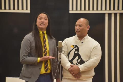 【岡-1グランプリ】初出場のトム・ブラウン、圧倒的な漫才 ナイナイも賛辞「迫力が全然違う」