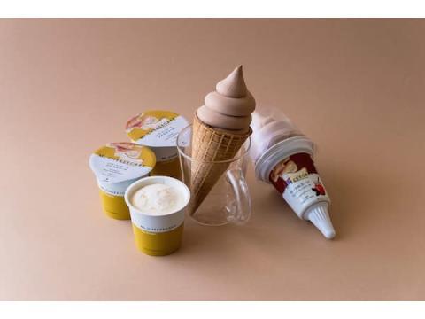 「Mr. CHEESECAKE」商品をイメージしたアイスが「セブン-イレブン」に登場