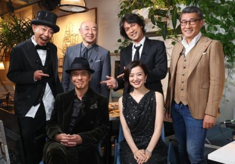 木梨憲武、大みそかにフジテレビで特番 豪華ゲスト陣と佐藤浩市の還暦祝う