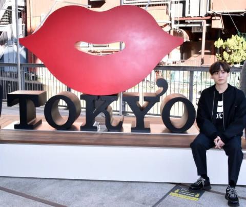 Da-iCE・工藤大輝、渋谷の新オブジェに期待「ここでジャケ写を撮りたい」