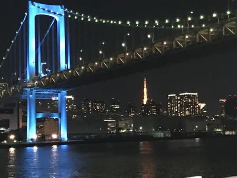 「極寒夜景クルーズ&謎解きクルーズ」でロマンチックな東京湾の夜景を満喫