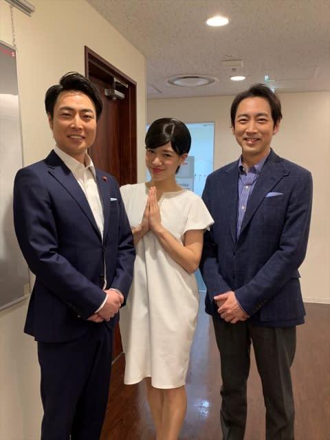 小泉孝太郎、弟&義妹のモノマネ芸人と対面 『ザワつく大晦日』に出演