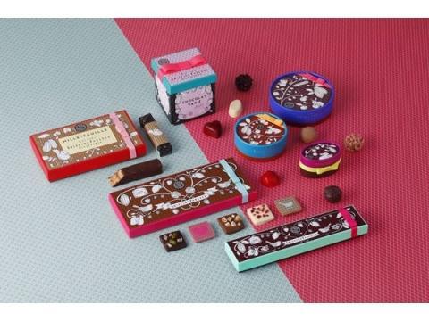 3段ボックス入りショコラも!資生堂パーラーのバレンタインコレクション