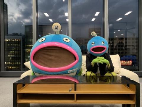 """千葉ロッテ""""謎の魚""""CD発売決定 佐々木朗希選手と同時デビュー狙う"""