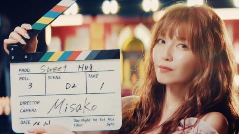 """宇野実彩子、ミニアルバムリード曲「Sweet Hug」MV公開 """"恋は映画""""をコンセプトにポップな世界観"""