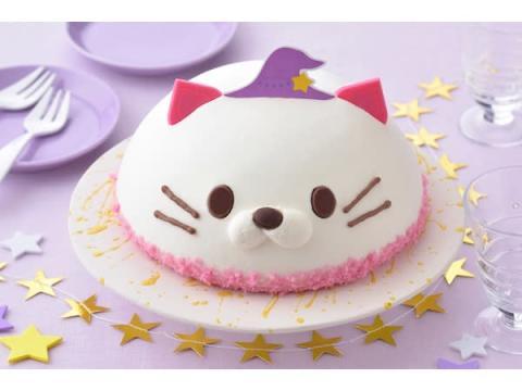 """""""ネコの魔法つかい""""がケーキに魔法をかけた!? キュートな苺スイーツが登場"""