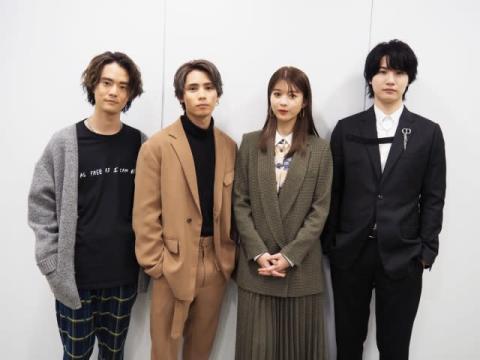 『3Bの恋人』馬場ふみか×神谷健太×HIROSHI×桜田通 3人の男性と同居する非日常的な日常