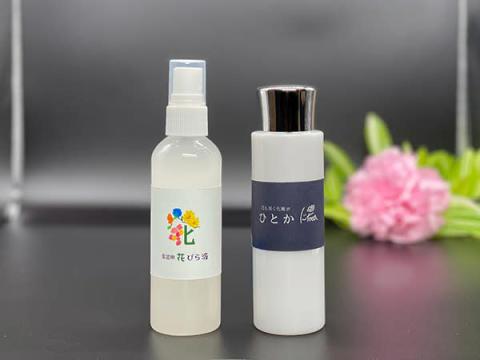 """園芸用品が化粧水としてヒット!? 学生が開発した""""花びら液""""が化粧品に"""