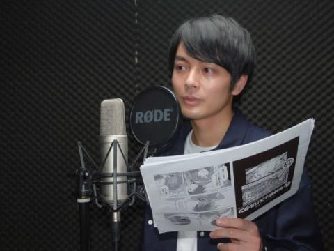 榎木淳弥、高校は剣道部でスパルタ「軍隊みたいな」 漫画『半神戦士スパルタン』動画企画に挑戦