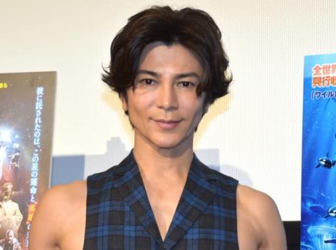 武田真治、インフルエンザから回復 ミュージカル出演へ