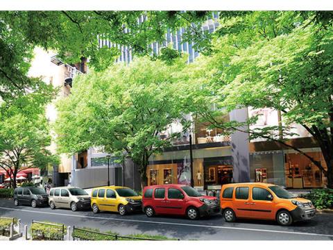 日本の街にフランスの色を!「ルノー カングー」5色の限定車が登場