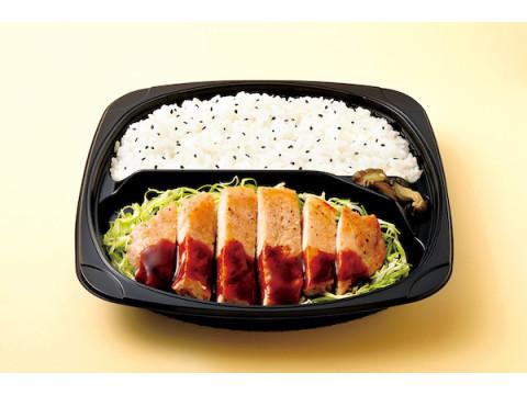 肉重量25%アップ!オリジンから食べ応えのある「トンテキ弁当」が登場
