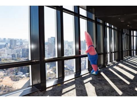 綺麗な景色を黙って眺める!東京タワーで「黙展」をしてお土産をもらおう
