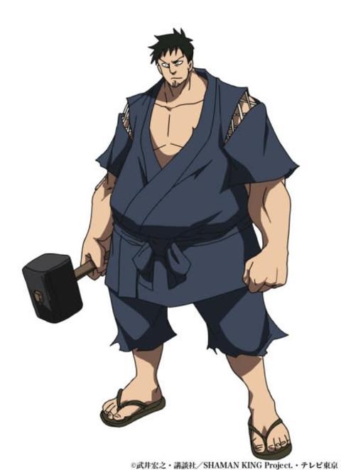 『シャーマンキング』阿弥陀丸の親友・喪助役に森田成一