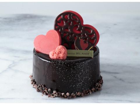 バレンタイン限定!ショコラ専門店「ベルアメール」のチョコレートケーキ