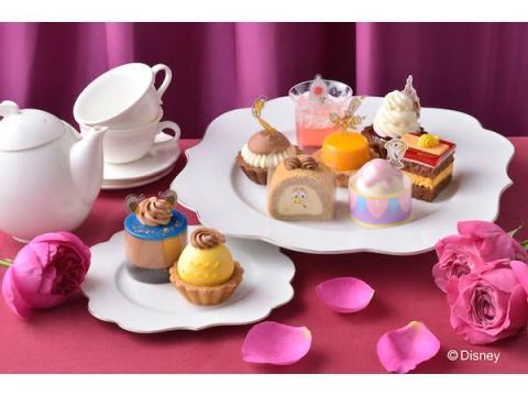 『美女と野獣』の舞踏会のシーンをイメージしたプチケーキアソートが登場!