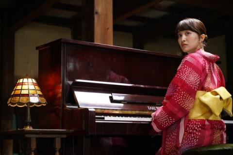 百田夏菜子、ピアノ演奏レコーディング&役柄での歌唱にも初挑戦