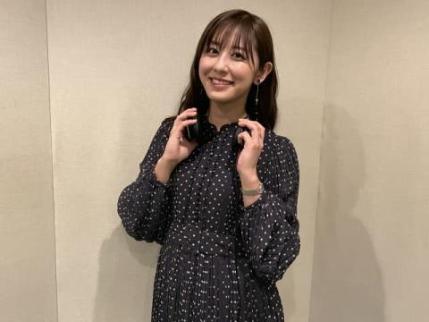 斎藤ちはるアナ、ボカロP・TOOBOE楽曲の歌い手に「お風呂で練習頑張りました!」