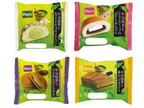 Pascoで毎年人気の「宇治抹茶シリーズ」から4商品が期間限定で登場!