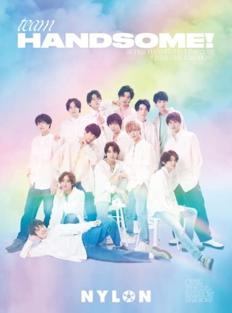 「虹の世界×チーム・ハンサム!」14人の若手注目俳優が虹色に染まる