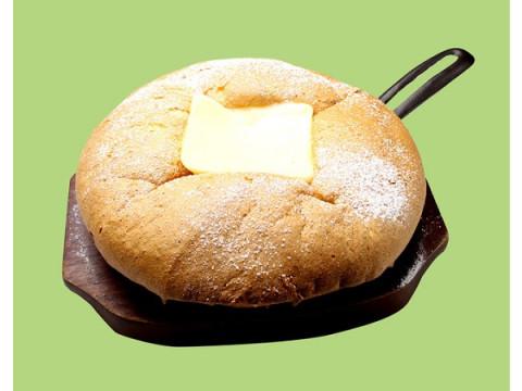 プルプル・ふわふわ・シュワシュワな「焼き立て!台湾カステラパンケーキ」