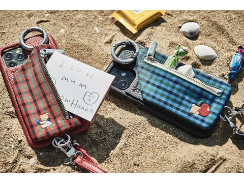 「ajew」×「familiar」!キュートなスマホケース&バッグが数量限定で発売