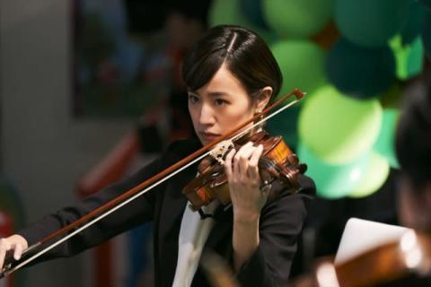 石橋静河がヴァイオリンを猛練習、演奏シーンメイキング映像解禁