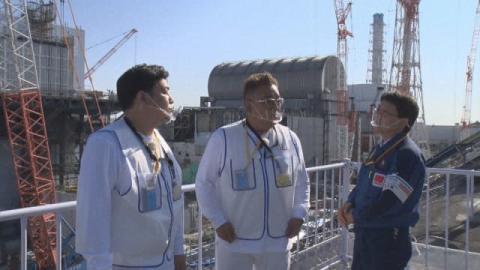 サンドウィッチマン、福島第一原発訪問 いまの現状と課題を問う