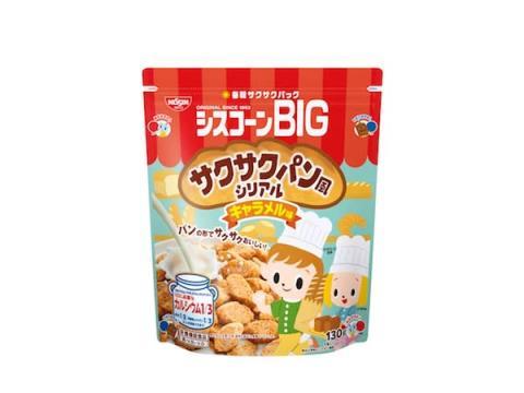 かわいいパンのような形&サクサク食感の「シスコーンBIG」が新発売!