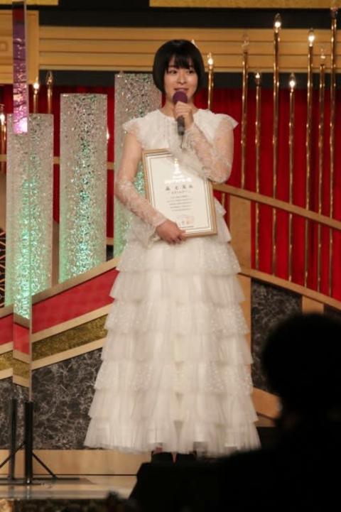 【日本アカデミー賞】新人俳優賞の森七菜「皆さんのおかげ、それしかありません」