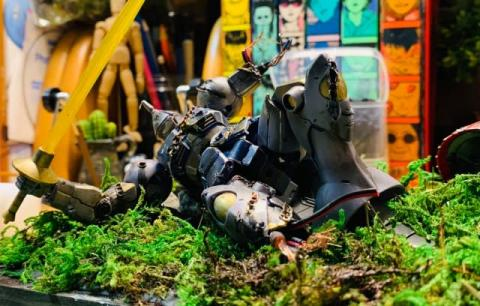 """気高き孤高の騎士・ギャンの""""最期の抵抗""""を表現 「この歳になって、戦いの細かい描写に気づくことがある」"""