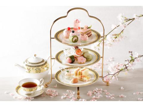 春爛漫!ベビーピンクが彩る「桜のアフタヌーンティー」で特別なひと時を