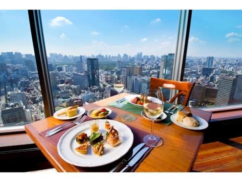 """東京ドームホテル最上階・地上150mで味わう""""絶景ランチ""""が登場!"""