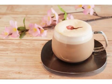 CHAVATYから桜の優しい色合いと香りを楽しめる「さくらティーラテ」が登場