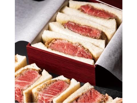 ワンランク上の贅沢なお土産!鉄板で焼き上げる「牛フィレステーキサンド」