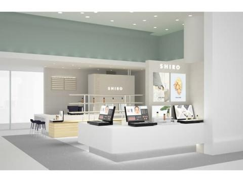 「SHIRO 渋谷ヒカリエ ShinQs店」がSHIRO CAFEを併設して1階に移転オープン