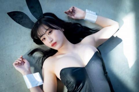 NMB48上西怜、念願のバニーガール初体験「今までになく大人っぽいグラビア」
