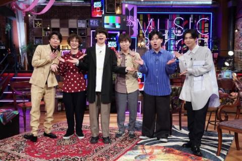 sumika『MUSIC BLOOD』初回ゲスト MC田中圭&千葉雄大と再会「親戚のお兄ちゃんに会ったような」