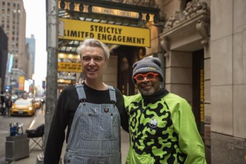 デイヴィッド・バーン×スパイク・リー監督、コラボは必然『アメリカン・ユートピア』