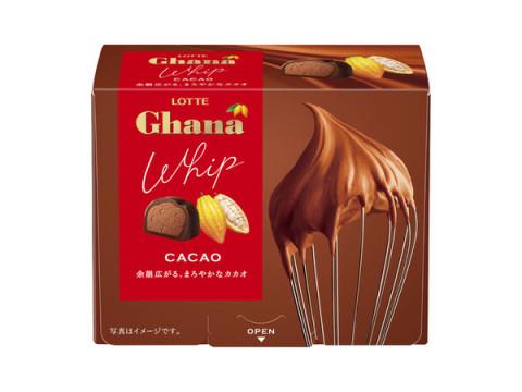 「ガーナ」からふわっと軽い一粒ショコラ&果実を感じる2層ショコラが登場