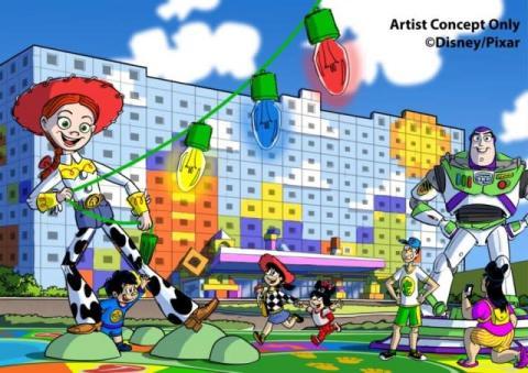 国内5番目のディズニーホテル名称決定『東京ディズニーリゾート・トイ・ストーリーホテル』