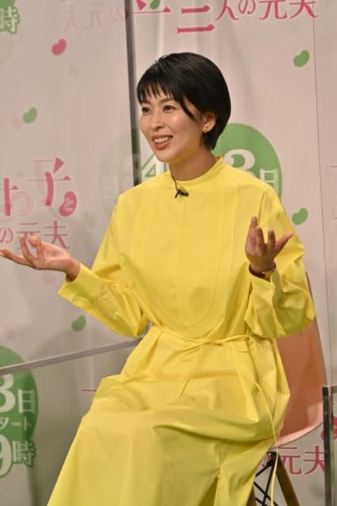 """松たか子""""ダメ男""""も許す結婚観「完璧じゃない方がいい」 岡田将生も共感「希望ですよね」"""