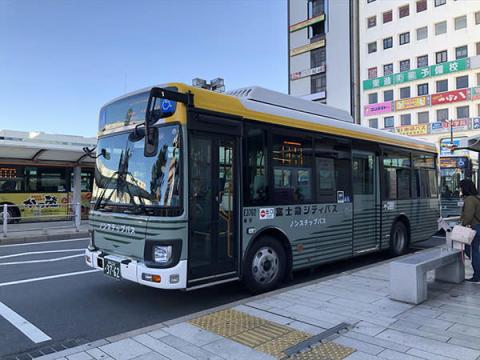 走行位置と混雑度がスマホで分かる!富士急シティバスが新システム導入