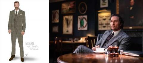 男性のスーツ選びや着こなしの参考に、ガイ・リッチー監督作『ジェントルメン』